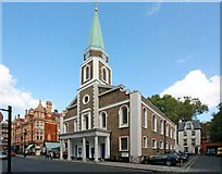 TQ2880 : Grosvenor Chapel, South Audley Street, London W1 by John Salmon