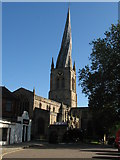 SK3871 : Parish Church at Chesterfield by Philip Wallbank