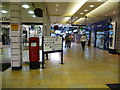 NS5965 : Glasgow: postbox № G1 1207, Queen Street station by Chris Downer