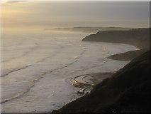 TA0487 : A misty sunrise over South Bay by John S Turner