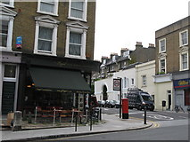 TQ2784 : The Legal Café, 81 Haverstock Hill, NW3 by Mike Quinn