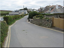 SW8975 : Road in Trevone by Philip Halling
