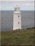 SW8576 : Lighthouse on Trevose Head by Philip Halling