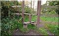 J3369 : Stile, Belvoir forest, Belfast (2) by Albert Bridge