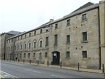 NT2676 : Former Crabbie's Warehouse, Great Junction Street by kim traynor