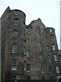 NT2574 : St. James's Square tenement backs by kim traynor