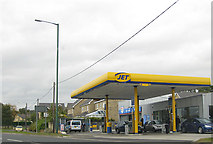 NZ1647 : Filling station, Lanchester by Pauline E