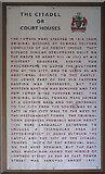 NY4055 : Notice, Carlisle Citadel by Kenneth  Allen