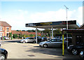 TM4699 : Closed petrol station in Beccles Road (A143) by Evelyn Simak