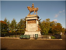 NS5766 : Glasgow: Lord Roberts memorial, Kelvingrove Park by Chris Downer