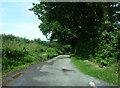 SO3574 : Lane junction near Mynd by Chris Gunns