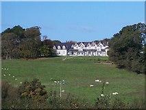 SH6179 : Haulfre Residential Home from near Aberlleiniog Castle by Eric Jones