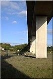 SW9873 : Under the Viaduct by Tony Atkin
