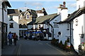 SD3598 : Hawkshead Village by Peter Trimming