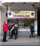 SE1633 : Aleef Newsagents - Kirkgate by Betty Longbottom