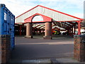SJ7055 : Crewe Market from Vernon Way by John S Turner