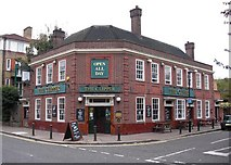 TQ3680 : The Ship pub (ex) 538, Rotherhithe Street, London, SE16 by Chris Lordan