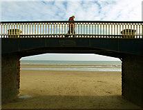 TA1280 : Promenade Bridge by Andy Beecroft