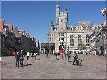 NJ9406 : Castlegate, Aberdeen by Anthony Foster