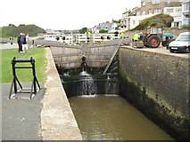 SS2006 : Lock on the Bude Canal by Philip Halling