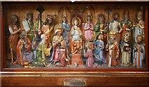 TQ2479 : St John the Baptist, Holland Road, London W14 - Altar south chapel by John Salmon