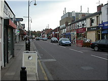 SJ8588 : Cheadle High Street by Mike Faherty