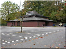 SJ8481 : Wilmslow Parish Hall by Mike Faherty