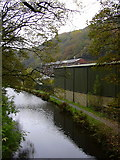 SD9625 : Rochdale Canal at Burnt Acres, Calderdale by robert wade