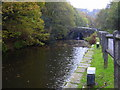 SD9625 : Rochdale Canal, Eastwood, Calderdale, West Yorkshire by Robert Wade