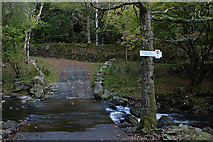 SH6229 : Ford over the Afon Artro by Nigel Brown