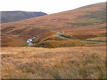NS7303 : Road down the Scaur Water Glen by Oliver Dixon