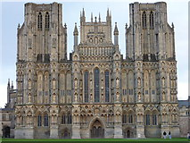 ST5545 : Wells Cathedral by Ivan Hall