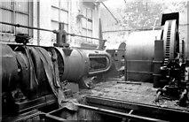 SS6694 : Steam engine, Landore Works by Chris Allen