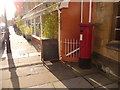 ST6316 : Sherborne: postbox № DT9 36, Half Moon Street by Chris Downer