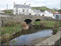 SH1726 : River confluence in Aberdaron by John Firth