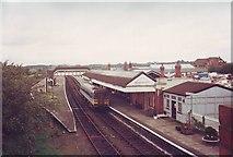 SP1955 : Stratford upon Avon Railway Station by nick macneill