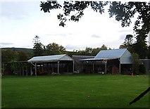 NH5141 : Farm buildings by Stanley Howe