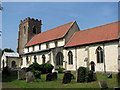 TF5814 : St Mary's church, Wiggenhall St Mary by Evelyn Simak