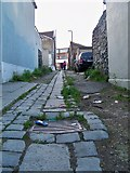 TQ7567 : Alley between Rochester Street and Ordnance Street by Richard Gadsby