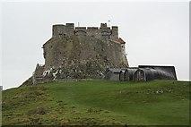 NU1341 : Lindisfarne Castle by Richard Croft