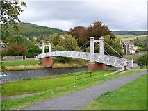 NT2540 : Priorsford Bridge, Peebles by Maigheach-gheal