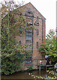 SK0418 : Old canal building, Rugeley, Staffordshire by Roger  Kidd