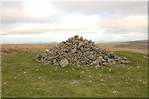 SX6781 : Cairn on Water Hill by Andrew Hackney