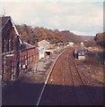 TQ5337 : Groombridge Railway Station by nick macneill