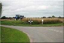 SU8700 : Junction of Runcton Lane and Manor Lane by Hugh Craddock