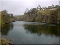 NY8540 : Copthill Quarry by Andrew Curtis