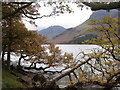 NY1816 : View over Buttermere towards Haystacks by Ian Cunliffe