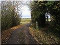 SP6817 : Footpath Junction by Shaun Ferguson