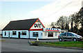 TL0898 : Early evening at the Stibbington Diner by Andy F