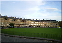 ST7465 : Royal Crescent, Bath - the east side by Richard Law